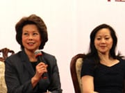 Elaine Lan Chao and Angela Chao
