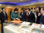 The Chao Family Meet Officials At Shanghai Jiao Tong University