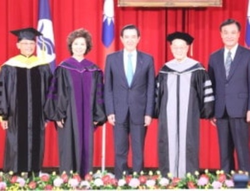 Honorary Doctorate Degree to Dr. James S. C. Chao and Secretary Elaine L. Chao at NTOU's 63rd anniversary